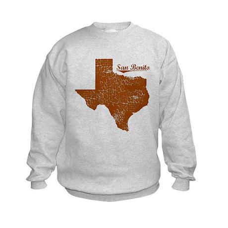 San Benito, Texas (Search Any City!) Kids Sweatshi