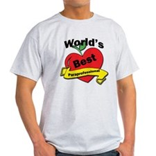 Worlds Best Paraprofessional T-Shirt