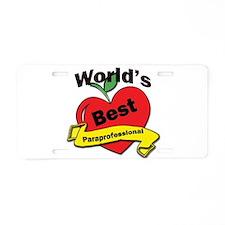 Cute Educational administration Aluminum License Plate