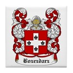 Bozezdarz Coat of Arms Tile Coaster