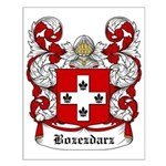 Bozezdarz Coat of Arms Small Poster