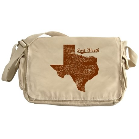 Fort Worth, Texas (Search Any City!) Messenger Bag