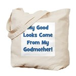 Good Looks From Godmother - B Tote Bag