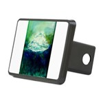Snowy Mountain Rectangular Hitch Cover