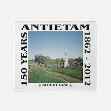 Bloody Lane - Antietam Throw Blanket
