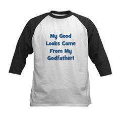 Good Looks From Godfather - B Kids Baseball Jersey