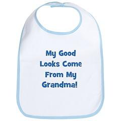 Good Looks from Grandma - Blu Bib