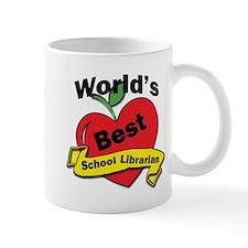 Worlds Best school Librarian Mugs