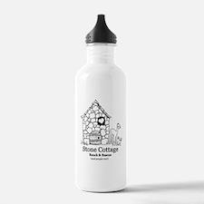 Black Logo Water Bottle