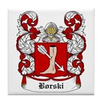 Borski Coat of Arms Tile Coaster