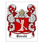 Borski Coat of Arms Small Poster