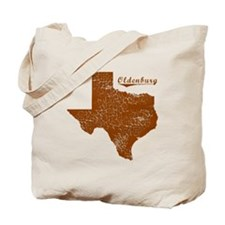 Oldenburg, Texas (Search Any City!) Tote Bag