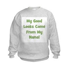 Good Looks From Nana - Green Sweatshirt
