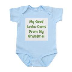 Good Looks From Grandma - Gre Infant Creeper