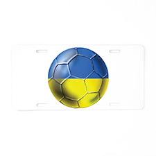 Ukraine Football Aluminum License Plate