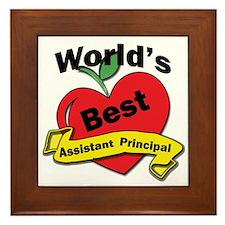 Funny Principal Framed Tile
