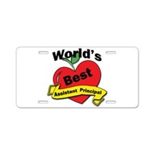 Administrative assistant Aluminum License Plate