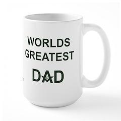 Worlds greatest Dad and Mason Large Mug