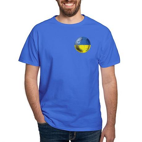 Ukraine Football Dark T-Shirt