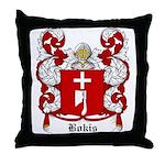 Bokis Coat of Arms Throw Pillow