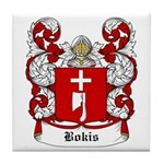 Bokis Coat of Arms Tile Coaster