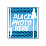 Personalize Design Square Sticker 3