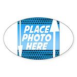 Personalize Design Sticker (Oval)