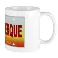 New Mexico License Plate Mug