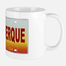 New Mexico License Plate Mug