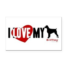 Brittany Rectangle Car Magnet