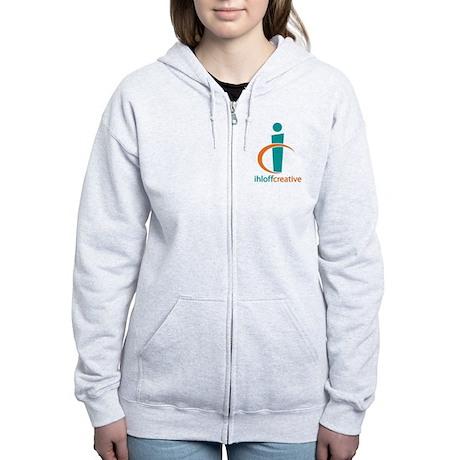Ihloff Creative Logo Women's Zip Hoodie