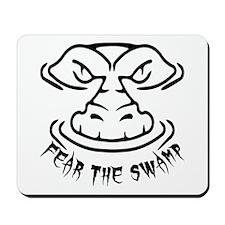 Fear the Swamp Gator Mousepad
