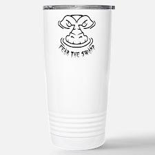 Fear the Swamp Gator Stainless Steel Travel Mug