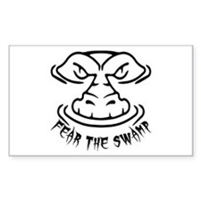 Fear the Swamp Gator Decal