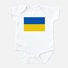 Flag of the Ukraine Infant Bodysuit