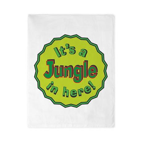 It's a Jungle in Here Twin Duvet