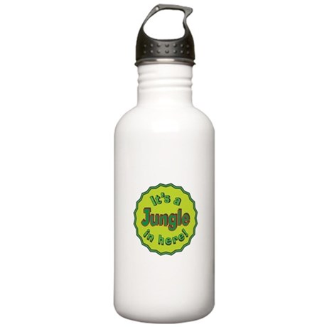 It's a Jungle in Here Stainless Water Bottle 1.0L