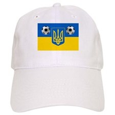 Ukrainian Football Flag Baseball Baseball Cap