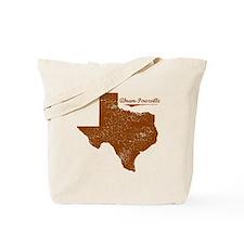 Abram-Perezville, Texas. Vintage Tote Bag