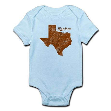 Woodrow, Texas (Search Any City!) Infant Bodysuit