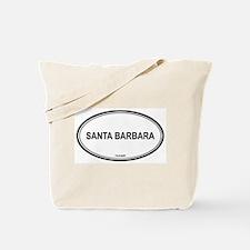 Santa Barbara oval Tote Bag