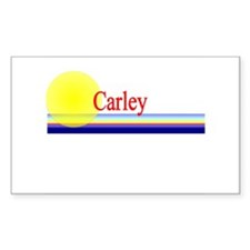 Carley Rectangle Decal