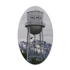 Palmer Town, Alaska Water Tower Wall Decal