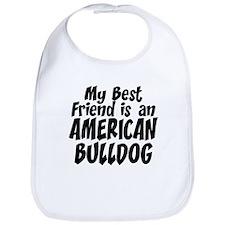 American Bulldog FRIEND Bib