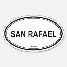San Rafael oval Oval Decal