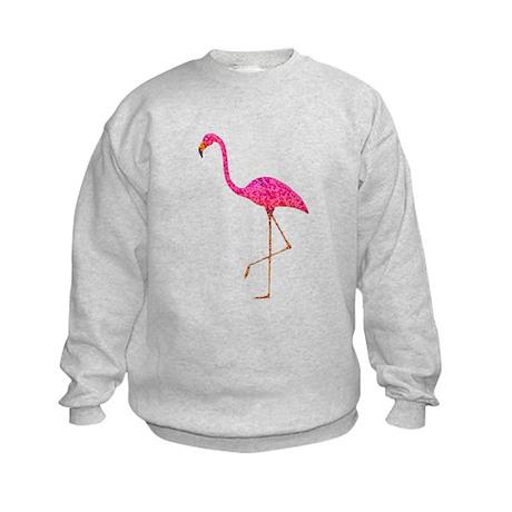 Pink Flamingo Kids Sweatshirt