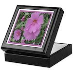 Fe's Pink Malva Keepsake Box