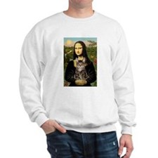 Mona's Tiger Cat Sweatshirt