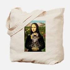 Mona's Tiger Cat Tote Bag