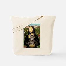 Mona's Tiger Cat Tote Bag